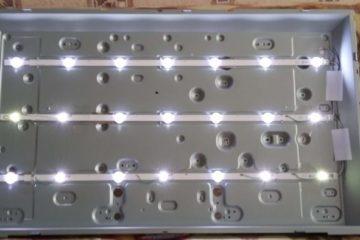 Ремонт подсветки LED телевизора